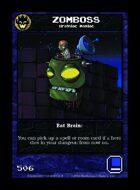 Zomboss - Custom Card