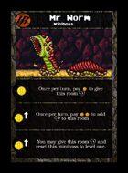 Mr Worm - Custom Card