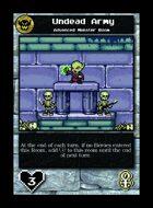 Undead Army - Custom Card