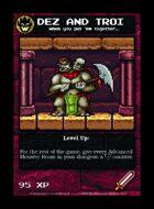 Dez And Troi  - Custom Card