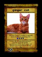 Ginger Cat - Custom Card