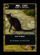Mr. Cat - Custom Card