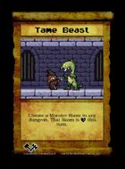 Tame Beast - Custom Card