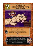 Falkor's Neverending Trip - Custom Card
