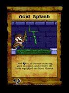 Acid Splash - Custom Card