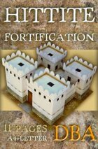 Hittite fortification (Built Up Area for DBA)
