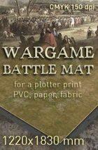Battle mat (011) Grass plain