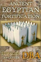 Ancient Egyptian fortification (Built Up Area for DBA)