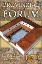 Antique Roman Provincial Forum (rb027)