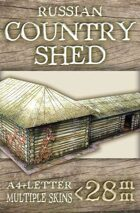 Russian Country Shed (rch012)