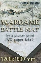 Battle mat (041) Snow plain