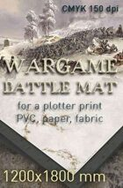 Battle mat (042) Snow plain