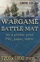 Battle mat (052) Sea plain