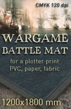 Battle mat (053) Sea plain