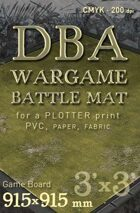 DBA Battle mat (014) Grass plain