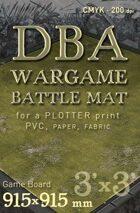 DBA Battle mat (014) Grass plain