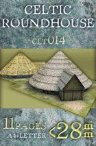 Celtic (Gallic) Roundhouse (clt014)