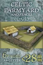 Celtic (Gallic) Farmyard and Fences (clt015)