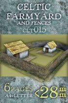 Celtic (Gallic) Farmyard and Fences (clt015)