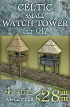 Celtic (Gallic) small Watch Towers (clt017)