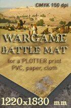 Battle mat (061) Desert plain