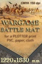 Battle mat (062) Desert plain