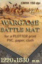 Battle mat (062) Desert plain