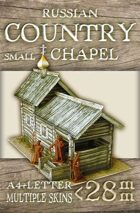 Russian Country Small Chapel (rch003)