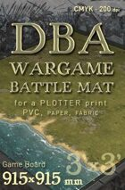 DBA Battle mat (014wp) Littoral Grass Plain