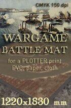 Battle mat (057s) Mississippi River