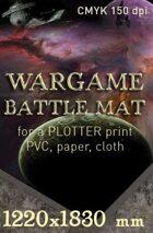 Battle mat (071) Starfield