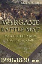 Battle mat (015) Grass plain