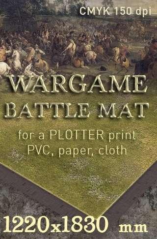 Battle mat (015) Grass plain - WargamePrint | Battlemats | Dungeon Masters  Guild