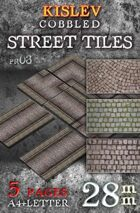 Cobbled Street Tiles (pv03)