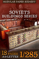 Soviet's buildings series (1) Khrushchev'ka