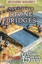 Stone Bridges set 6mm (1/285), 10mm, 15mm