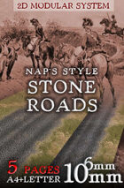 Napoleonic Style Stone Roads 6mm/10mm