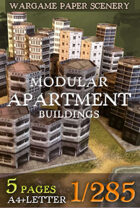 Modular Apartment Buildings set 1/285 (btb11)