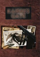 Kaiser's Gate - Adventures & Archetypes