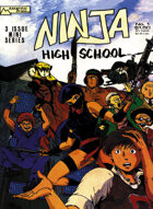 Ninja High School Action Deck