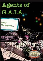 Agents of G.A.I.A. (Savage Worlds)