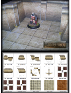 Complex 77 3D Dungeon Builder