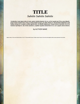 7th Sea: Creator Resource Word Template