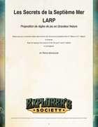 [French] Les secrets de la Septième mer LARP