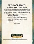 The Good Fight - Designing Better Combat in 7th Sea