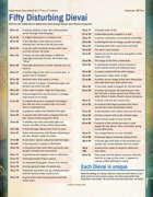 50 Disturbing Dievai