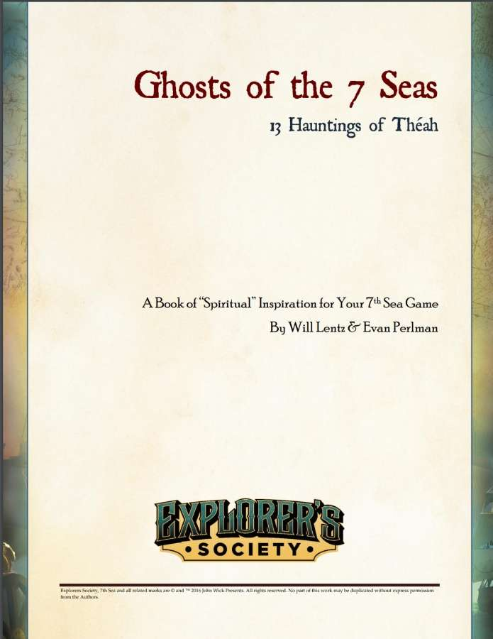 Ghosts of the 7 Seas