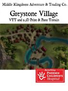 Adventure Map Tiles: Greystone Village