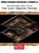 Adventure Map Tiles: The Lazy Dragon Tavern