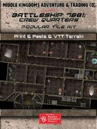 Adventure Map Tiles: Battleship 7681: Crew Quarters